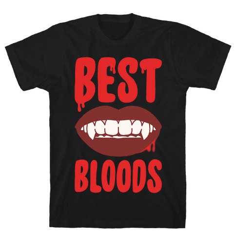 Best Bloods Pairs Shirt White Print Mens T-Shirt