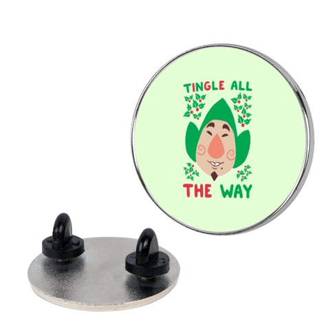 Tingle All the Way pin
