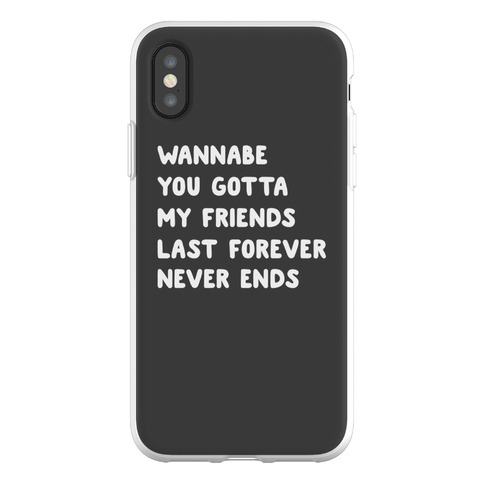 Wannabe Pair 2 Phone Flexi-Case