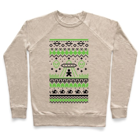 Ugly Alien Christmas Sweater Pullover