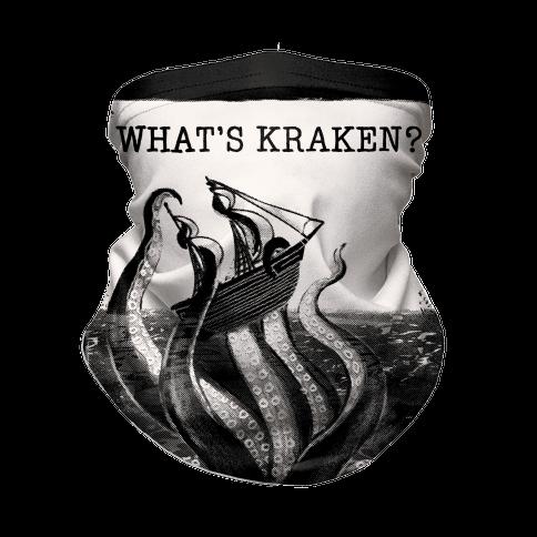 What's Kraken? Neck Gaiter