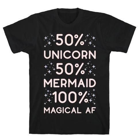 50% Unicorn 50% Mermaid T-Shirt