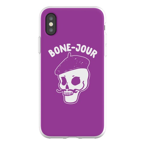 Bone-Jour Phone Flexi-Case