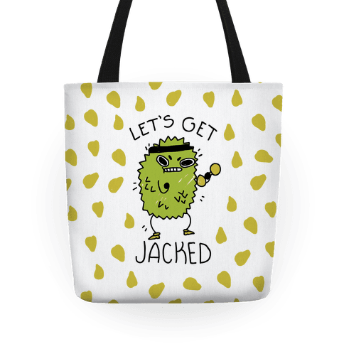 Let's Get Jacked Fruit Tote