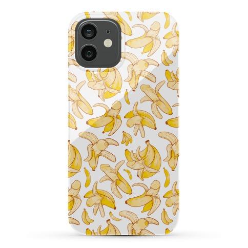 Banana penis pattern Phone Case