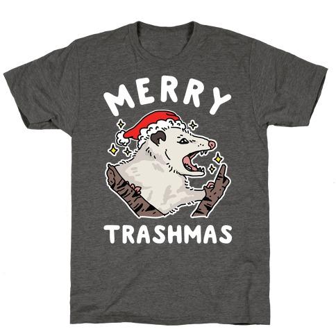 Merry Trashmas Opossum T-Shirt