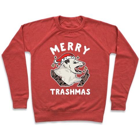 Merry Trashmas Opossum Pullover