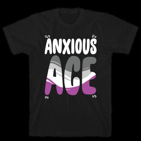 Anxious Ace Mens/Unisex T-Shirt