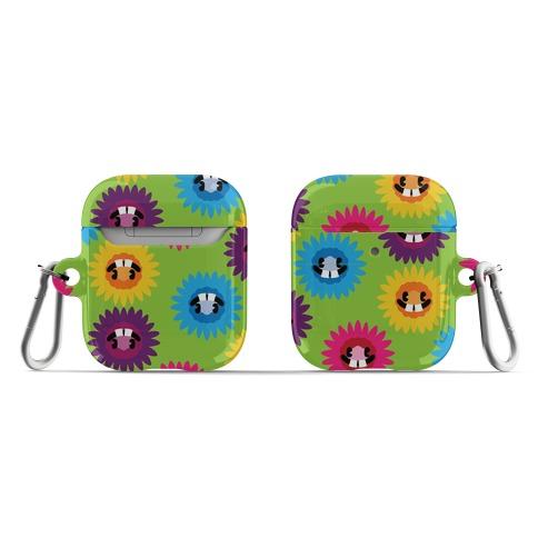 Happy Flower Pattern AirPod Case