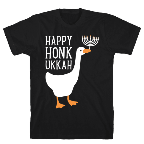 Happy Honkukkah Mens/Unisex T-Shirt