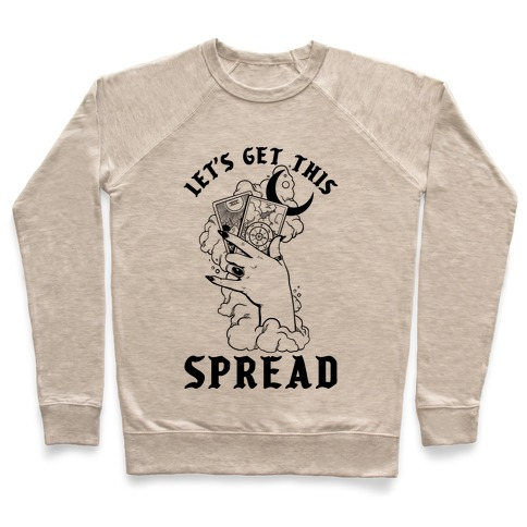 Let's Get This Spread Tarot Pullover