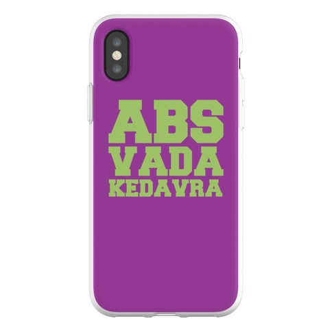 Abs Vada Kedavra Parody Phone Flexi-Case