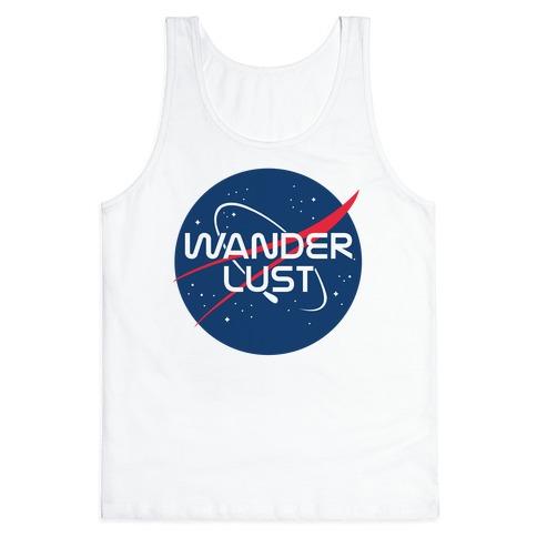 Wanderlust Nasa Parody Tank Top