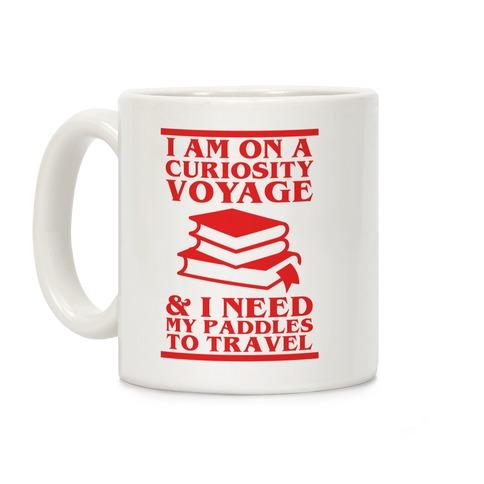 Curiosity Voyage Coffee Mug