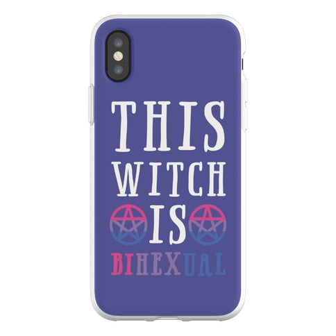 This Witch Is Bihexual Phone Flexi-Case
