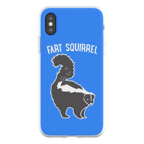 Fart Squirrel Skunk Phone Flexi-Case