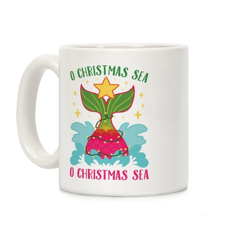 O Christmas Sea, O Christmas Sea Coffee Mug