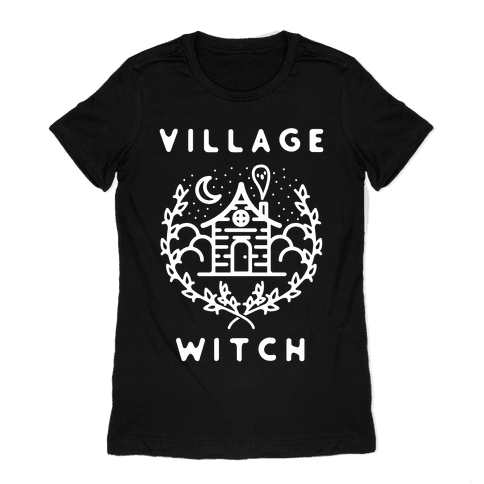 Village Witch Womens T-Shirt