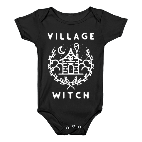 Village Witch Baby Onesy