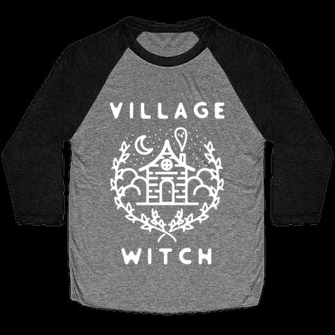 Village Witch Baseball Tee