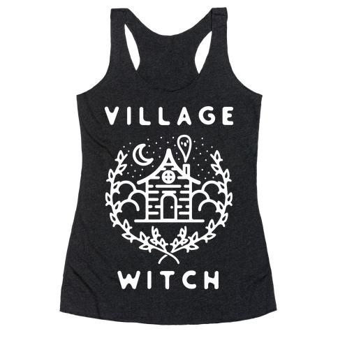 Village Witch Racerback Tank Top