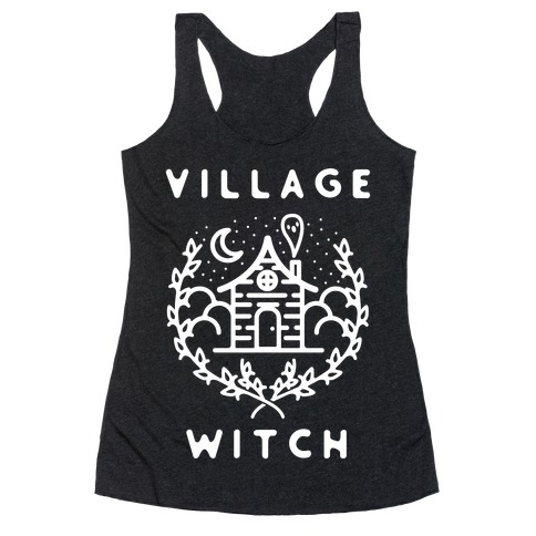 Village Witch Racerback Tank Top