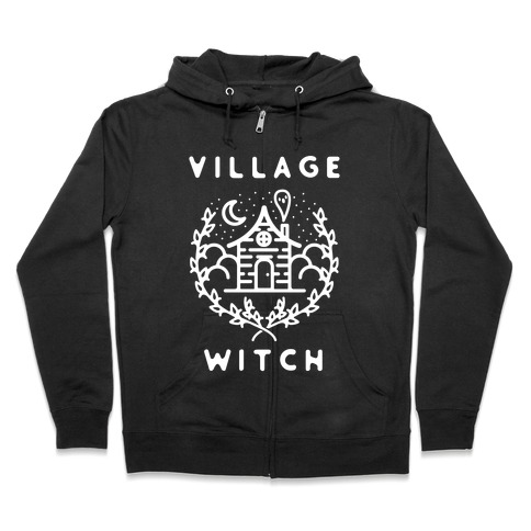 Village Witch Zip Hoodie