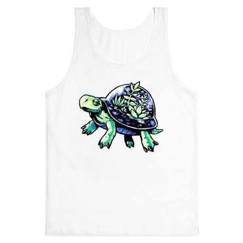 Turtle Succulent Terrarium Tank Top