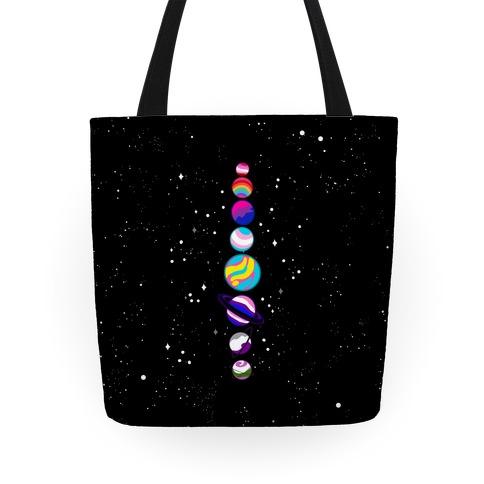 LGBTQ+ Planets Tote