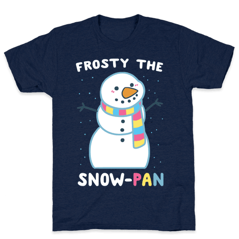 Frosty the Snow-Pan Mens T-Shirt