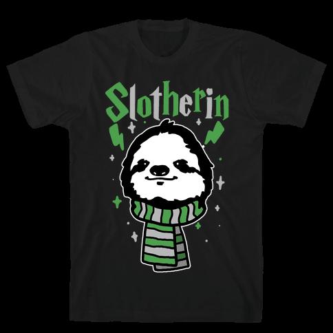 Slotherin Mens T-Shirt