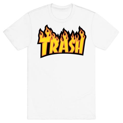 Trash Thrasher Logo Parody T-Shirt