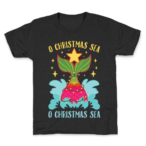 O Christmas Sea, O Christmas Sea Kids T-Shirt