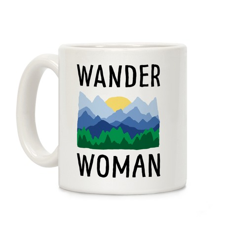 Wander Woman Coffee Mug