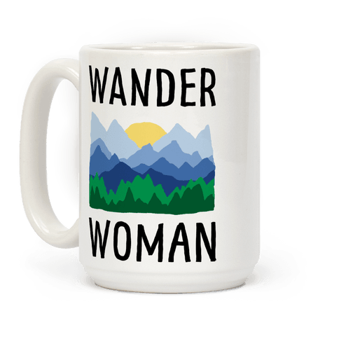 Wander Woman Coffee Mug