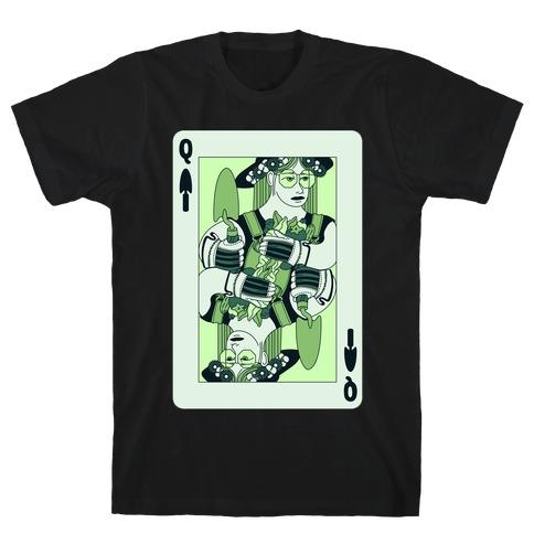 Queen Of Garden Spades T-Shirt