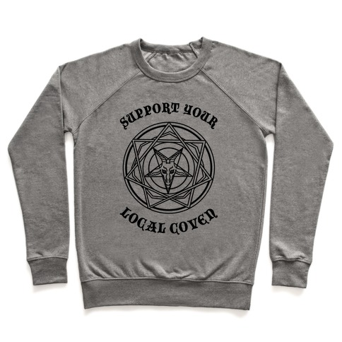 Support Your Local Coven Pullover