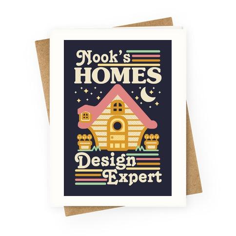Nook's Homes Design Expert Greeting Card