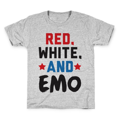 Red, White, And Emo Kids T-Shirt