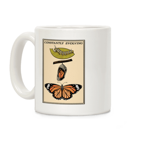 Constantly Evolving Monarch Butterfly Coffee Mug