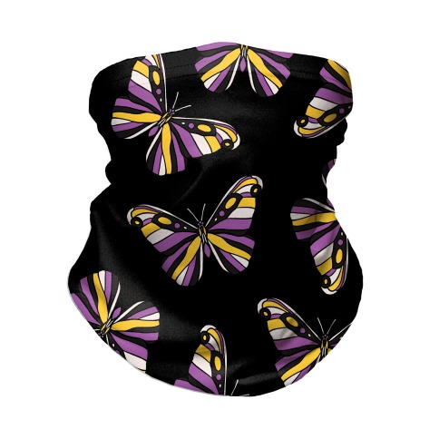 Non-binary Butterfly Neck Gaiter