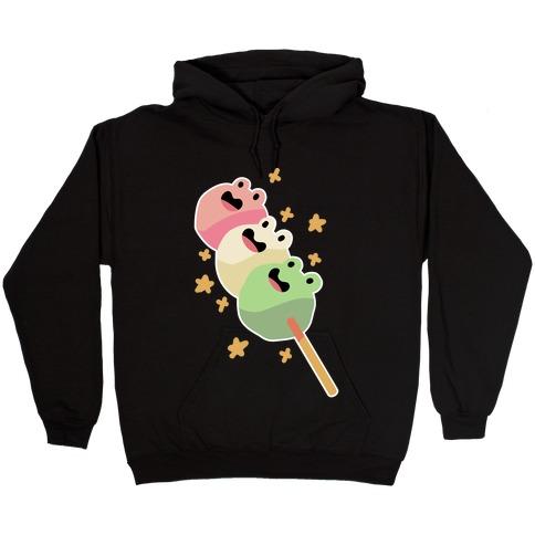 Frog Dango Hooded Sweatshirt