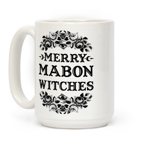 Merry Mabon Witches Coffee Mug