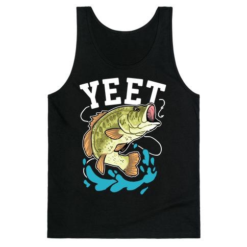 Yeet Bass Fishing Tank Top