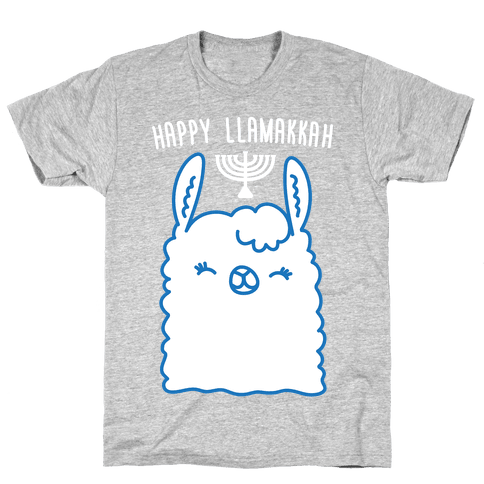 Happy Llamakkah Mens T-Shirt