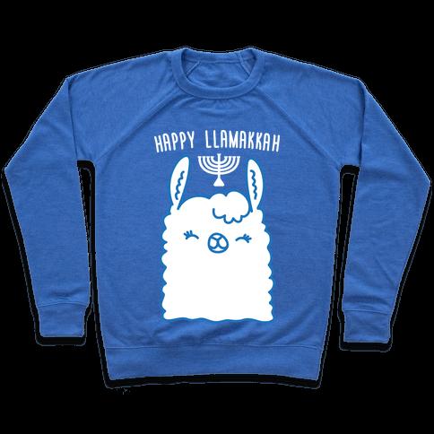 Happy Llamakkah Pullover