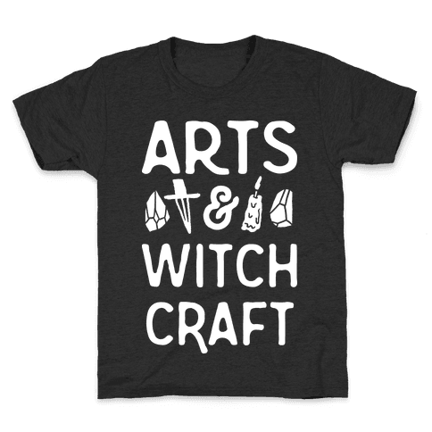Arts And Witchcraft Kids T-Shirt