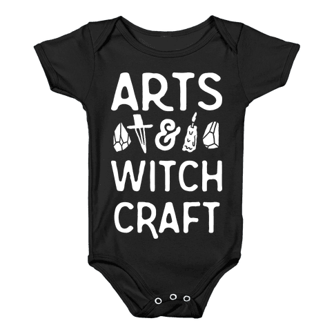 Arts And Witchcraft Baby Onesy