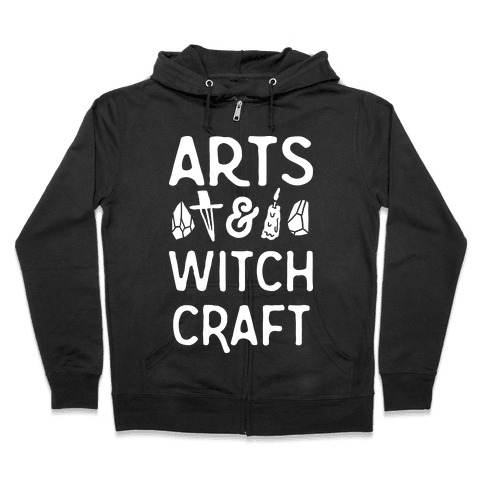 Arts And Witchcraft Zip Hoodie