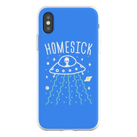 Homesick Alien Phone Flexi-Case
